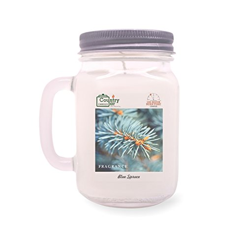 Country Jar Blue Spruce Soy Candle (14.5 oz. Mason Jar) Spring Pick-3 Sale! See Details.