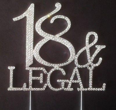accessories4u2buy Decoración Grande para Tarta de cumpleaños ...