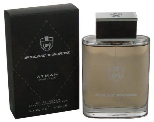 ATMAN SPIRIT OF MAN by Phat Farm EDT SPRAY 3.4 OZ for MEN