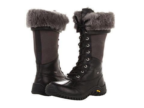 UGG Women's Adirondack Tall, Black 6 B - Medium for sale  Delivered anywhere in USA