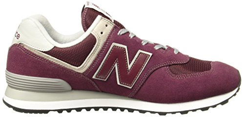 Black Rouge burgundy Er Balance New white Sneaker AqT66U