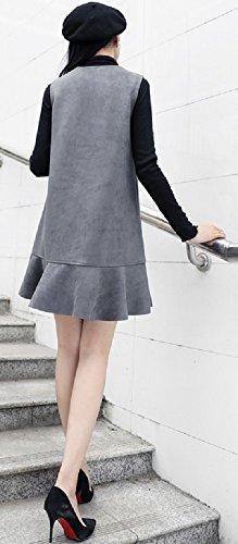 レディース スカートスーツ セットスーツ アンサンブル カジュアル Aライン OL 体型カバー サイズ豊富 美脚 脚長効果 着痩せ