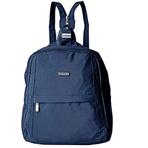 Baggallini Sling Messenger Backpack Shoulder Bag - Organized Lightweight-Travel or Everyday Use -Utility Backpack -Baggallini Crossbody Purse- Durable - Perfect for Any Outfit (Pacific/XCU840)