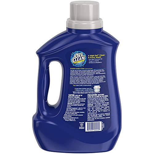 Oxiclean Hd Laundry Detergent Sparkling Fresh 60 Oz