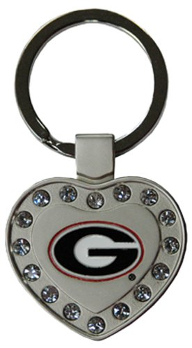 NCAA Georgia Bulldogs Metal Heart