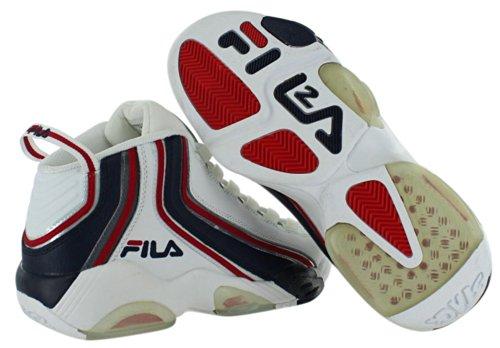 Fila Stack 2 Zwart / Wit / Rood Basketbal Sneakers Voor Heren Schoenen