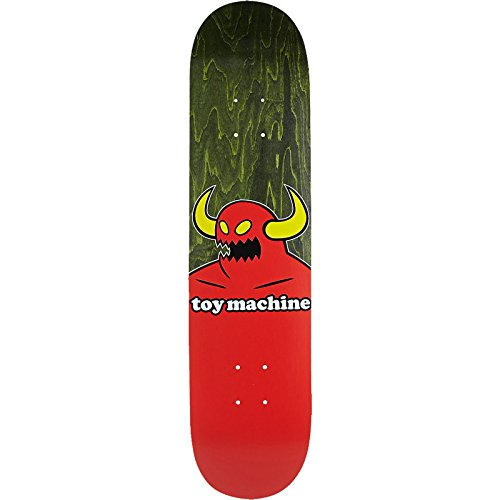 "Toy Machine Skateboards Monster Skateboard Deck - 7.75"" x 31.5"""