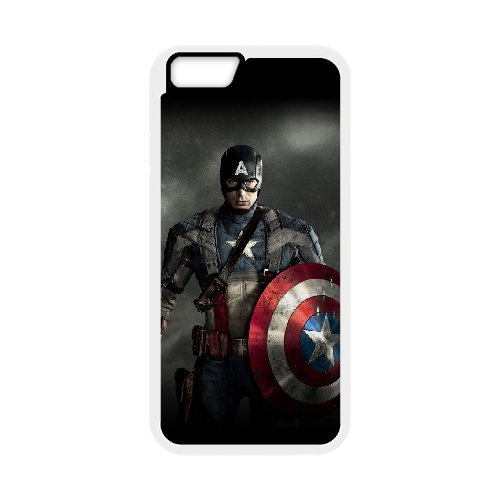 """LP-LG Phone Case Of Captain America For iPhone 6 Plus (5.5"""") [Pattern-1]"""