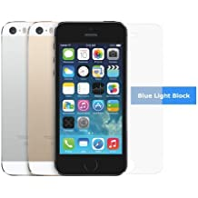 Eyeto- [HD] RetinaShield Blue Light Filter Screen Protector for iPhone 5/5c/5s - Great for Kids - Filter out Eye-Fatigue and Eye-Strain causing Blue Light - with Lifetime Replacement Warranty [1-Pack] - Retail Packaging