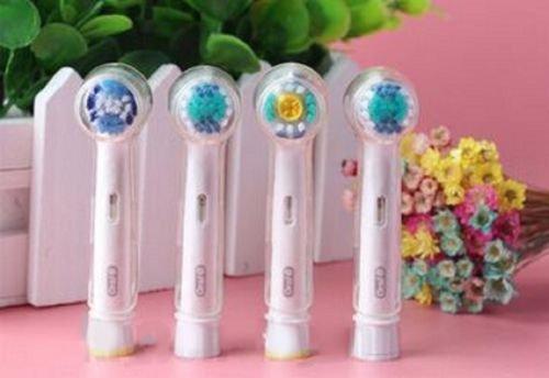 Lavillede copertura di protezione della copertura antipolvere della testa del toothbrush elettrico della testa rotonda 4pcs