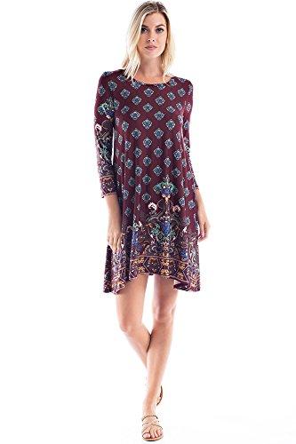 Beaded Jersey Knit Dress - 9