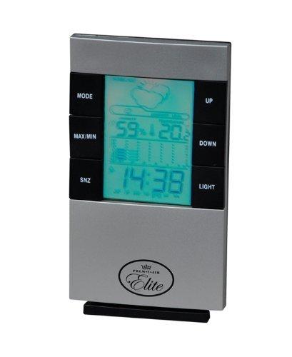 Prem-i-air Elite Weather Station Clock