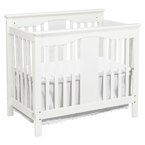 DaVinci Annabelle 2-in-1 Mini Crib and Twin Bed, White