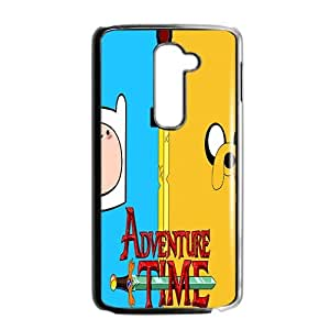 Happy Aadventure time Case Cover For LG G2 Case