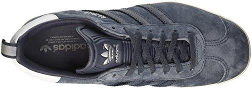 Blue utility silver Argent Gazelle Basses Femme Blue utility Adidas Baskets Metallic PSYqPA