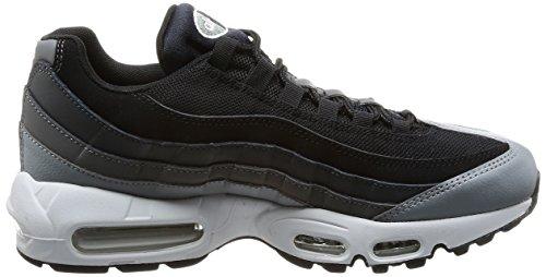 Nike Air Max 95 Essential Sneakers Da Uomo 749766-300 Nero / Nero-antracite-grigio Scuro