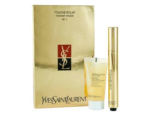 Yves Saint Laurent Touche Eclat Radiant Touch n ° 1 et 15ml Gommage Exfoliant