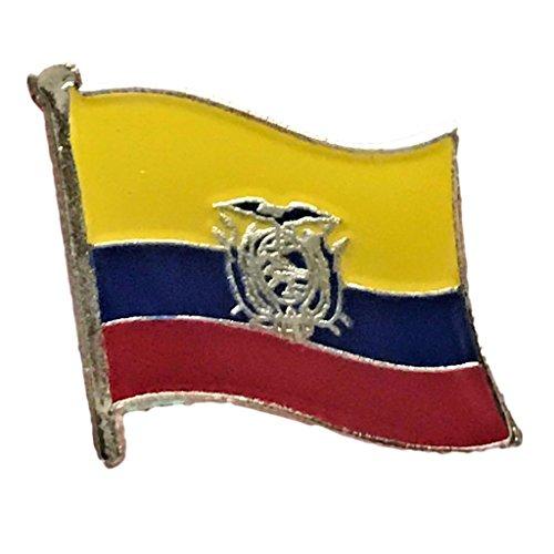Backwoods Barnaby Ecuador Flag Lapel Pin