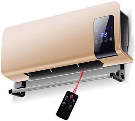Ptcエレメント、リモートコントロール、タイマーを備えた2kw電気オーバードアエアカーテンスクリーン