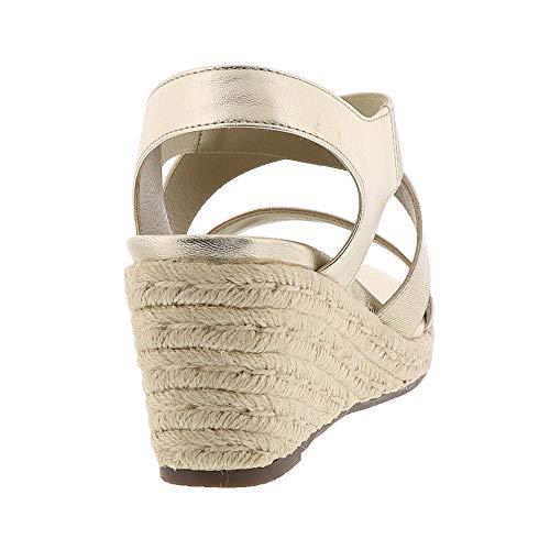 Champagne Talum Ainsleigh Leather Womens Sandals VIONIC 1XfFwqn15x
