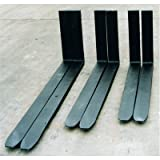 "2-Piece Forklift Fork Set, Class 2, 42"" Length x 4"" Width x 1-1/2"" Thickness, 5500 lbs Lifting Capacity"