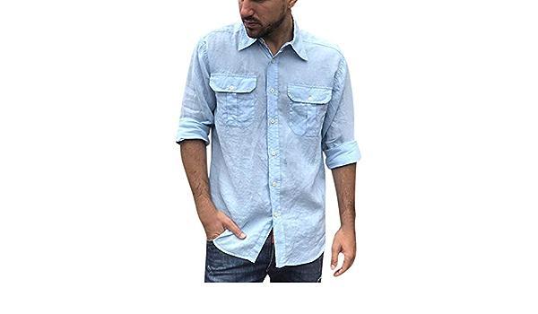 waotier Camisetas Camisas Casual Camisa de Herramientas para ...