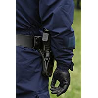 AMMEX Professional Series Black Nitrile Disposable Gloves - police