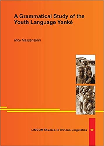 Book A Grammatical Study of the Youth Language Yanké