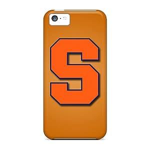New Hard Cases Premium Iphone 5c Skin Cases Covers(syracuse Orange)