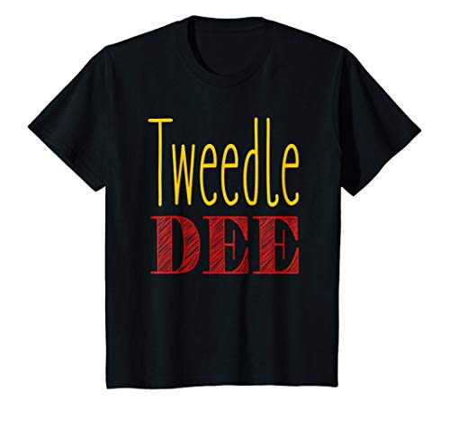 Kids Tweedle Dee T-Shirt Halloween Costume Tee 12 -
