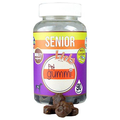 Pictures of NEW! LICKS Dog Senior Pet Gummi Vitamins - 6
