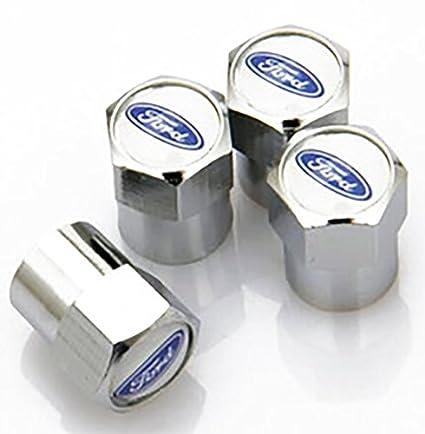 FORD Tapones antipolvo para válvula de neumático con logotipo de marca