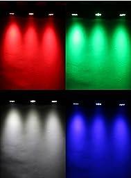 Rainiers 7x12W LED 4 In 1 RGBW Moving Head Stage PAR Light