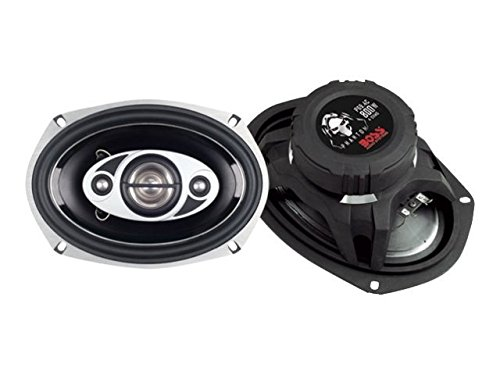 BOSS Audio PC69.4C 800 Watt (Per Pair), 6 x 9 Inch, Full Range, 4 Way Car Speakers (Sold in Pairs)
