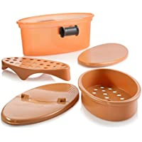 As Seen on TV 5 In 1 Non-Stick Pasta Cooker (Copper)