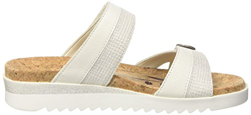 01 Femme 000 Mules Hollywood Blanc Weiss ROMIKA x7wHvBqpw