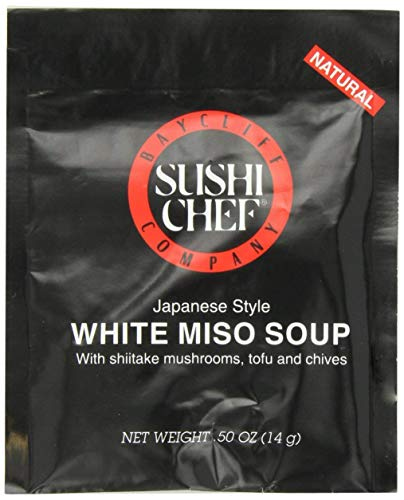 Sushi Chef White Miso Soup Mix, 0.50-Ounce Packets (Pack of 12) (Best Miso Soup Recipe)
