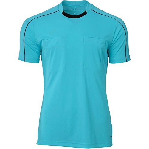 Adidas Referee 16 Mens SS Soccer Jersey L Blue Glow-Black ()