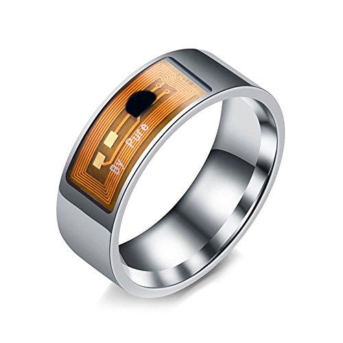 Auntwhale Smart Ring NFC Multifunctional Waterproof Intelligent Ring Smart Wear Finger Digital Ring