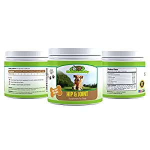 Advanced Hip and Joint Dog Treats by Charlie & Shmitty Pets - includes Glucosamine for Dogs, Chondroitin MSM and Turmeric for Dogs - Extra Strength with Arthritis Pain Relief for Dogs by Charlie & Shmitty Pet Supplies