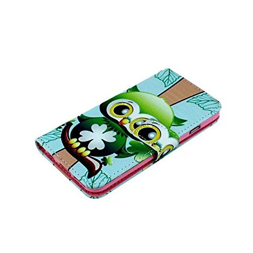 IPhone 6Plus 5.5inch Housse en Cuir Wallet Flip Case -Yaobai Protecteur Wallet Shell Housse Coque Etui avec TPU Soft Skin Case Cover avec des fentes de carte de credit Pour Apple iphone 6Plus Iphone6+