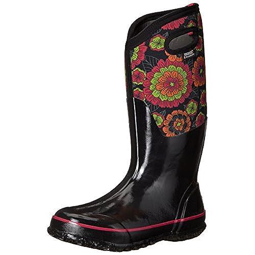 Bogs Women's Classic Pansies Snow Boot get discount
