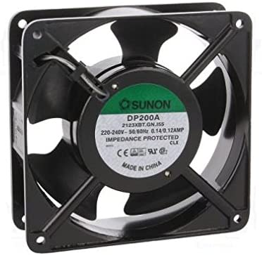 Sunon Ventilador 120 x 120 x 38 mm DP200 A2123 X BT de IP55 AC 230 ...