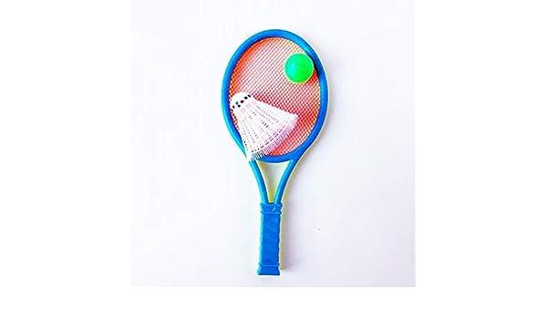Desarrollo de habilidades motoras Bebés y primera infancia Footprintse Raqueta de bádminton Juguetes para niños Raqueta de Tenis Traje de Raqueta