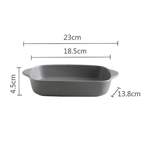 Bandeja rectangular de cerámica para hornear - Diseño ...