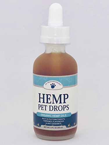 Dr. Field's Botanicals Hemp Pet Drops Concentrated Tincture | Perfect Aid for Stress Relief, Anxiety, Hip and Joint Pain, Excessive Barking, Storms, and More | Veterinarian Approved Formula | 750 mg by Dr. Field's Botanicals