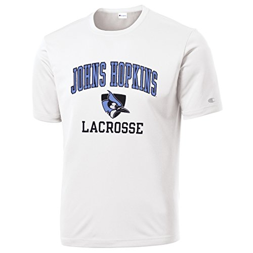 Johns Hopkins Blue Jays Lacrosse Tee - Youth-Medium by Lacrosse Unlimited