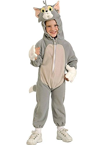 Tom and Jerry Tom Costume Toddler Boy - Small(4 - -