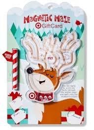 Price comparison product image Antler Scrambler Magnetic Maze Holiday 2012 Target Gift Card - NO VALUE
