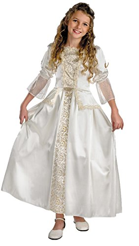 Elizabeth Deluxe Child Small (4-6X) Gown Pirates of the Caribbean Costume - Caribbean Pirate Queen Costume